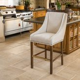 Christopher Knight Home James Fabric Bar Stool