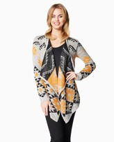 Charming charlie Tribal Chic Waterfall Cardigan