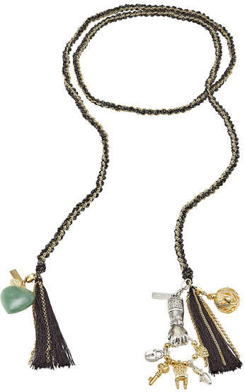 Missoni Woven Chain Tassel Bracelet