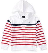 Ralph Lauren 2-7 Striped Cotton Jersey Hoodie