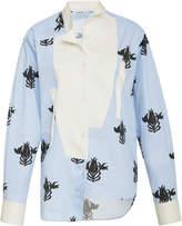 Loewe Printed Asymmetrical Cotton Shirt