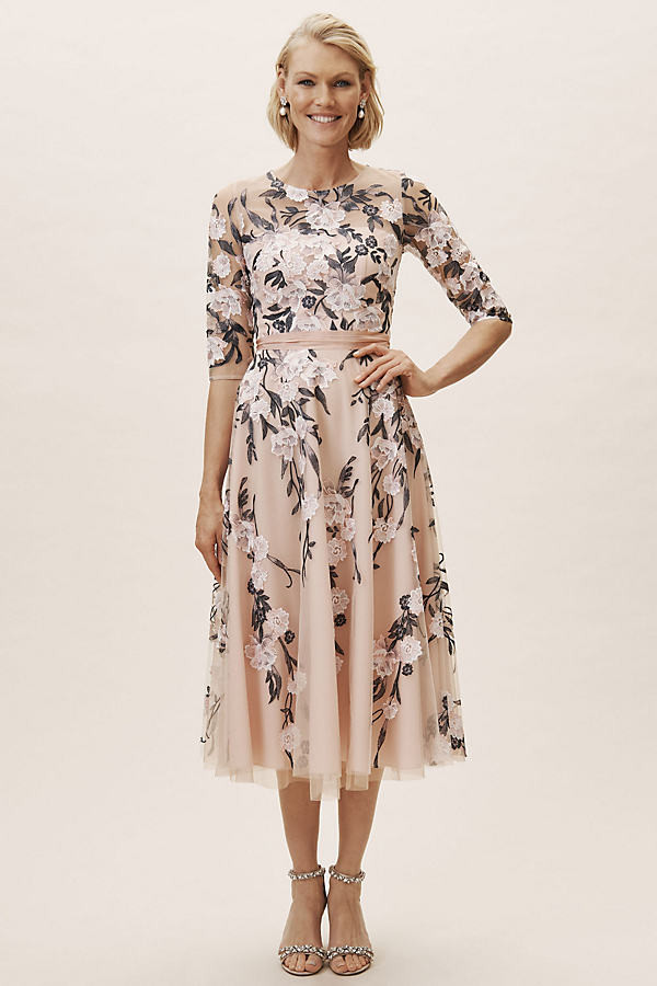 BHLDN Linden Dress By in Blue Size 8