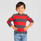 Toddler Boys' Henley Shirt Cat & Jack - Red