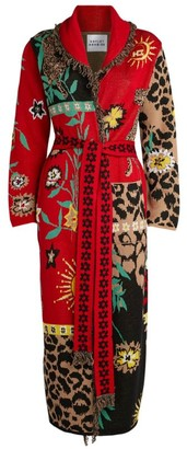 Hayley Menzies Long Enchanted Leopard Cardigan