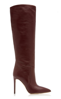 Paris Texas Slouchy Leather Knee Boots