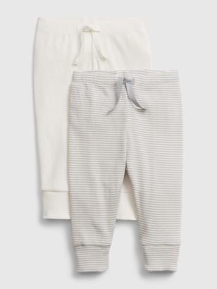 Gap Baby Organic Pull-On Pants (2-Pack)