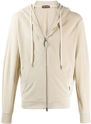 Tom Ford Zipped Hooded Sweatshirt