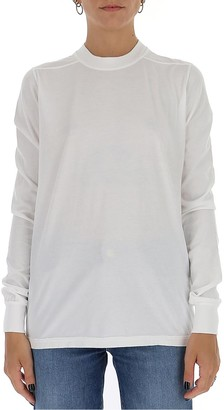 Rick Owens Crewneck Long-Sleeved T-Shirt