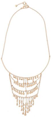 Noir Gavitella 14-karat Gold-plated Necklace