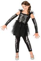 Asstd National Brand Girls Sequin Skeleton Costume