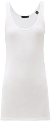 ATM - Racerback Micromodal-blend Jersey Tank Top - White
