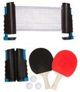 Trademark Innovations Anywhere Table Tennis Set