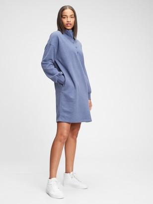 Gap Henley Sweatshirt Dress