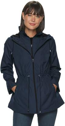 Details Women's Hooded Parka-In-a-Pocket Jacket
