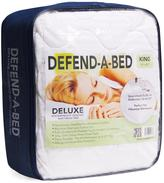 Deluxe Queen-Size Quilted Waterproof Mattress Pad and Protector