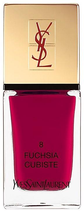 Yves Saint Laurent La Laque Couture in N 8 Fuchsia Cubiste