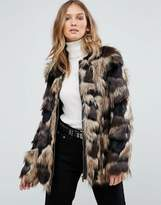 Pepe Jeans Broomfield Faux Fur Coat