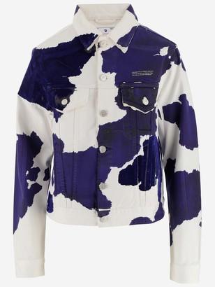 Off-White Cow Print Jacket