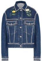 Stella McCartney nashville embroidery denim jacket