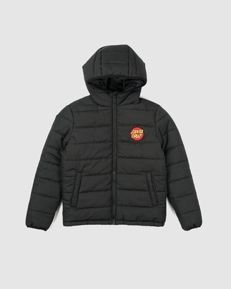 Santa Cruz Elm Puffa Jacket - Teens