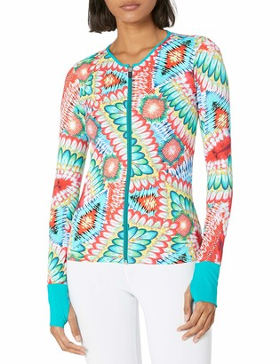 Luli Fama Women's Fitted Zip Jacket