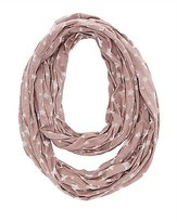 Charlotte Russe Burnout Star Infinity Scarf