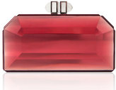 Judith Leiber Faceted Box Clutch Bag