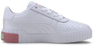 Puma Kids Cali Leather Trainers
