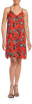 Vince Camuto Woodblock Floral Shift Dress