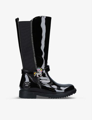Lelli Kelly Kids Frances patent leather boots 6-10 years