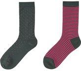 Uniqlo Women Heattech Socks 2 Pairs (Dot)