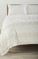 Nordstrom Textured Duvet Cover