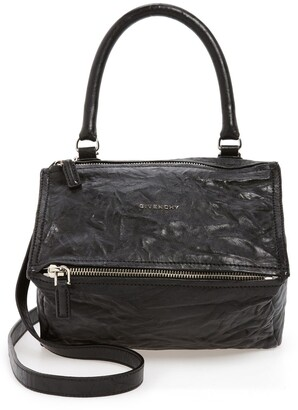 Givenchy Small Pepe Pandora Leather Shoulder Bag