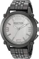 Kenneth Cole Reaction Men's 10030948 Sport Analog Display Japanese Quartz Grey Watch