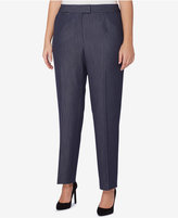 Tahari ASL Plus Size Denim Trousers