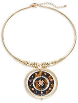 Kate Spade Out of Her Shell Circle Statement Collar Necklace