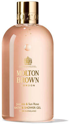 Molton Brown Jasmine & Sun Rose Bath & Shower Gel, 10 oz./ 300 mL