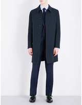 Gieves & Hawkes Single-breasted Cotton Raincoat