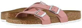 Birkenstock Yao (Old Rose Patent Birko-Flortm) Women's Sandals
