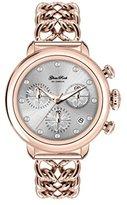 Glam Rock Women's Bal Harbour 40mm Rose Gold Plated Bracelet & Case Swiss Quartz Analog Watch GR77115N