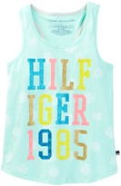 Tommy Hilfiger Tommy 1985 Graphic Tank (Big Girls)