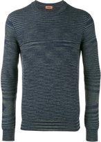 Missoni Moiré stripe knitted jumper - men - Wool - 46