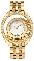 Versace Women's VQO060015 Destiny Precious Analog Display Swiss Quartz Gold Watch