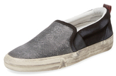 Golden Goose Deluxe Brand Distressed Slip-On Sneaker