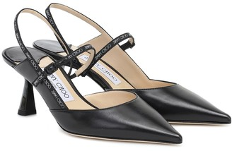 Jimmy Choo Ray 65 leather pumps
