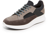 Salvatore Ferragamo Duo Suede Sneakers