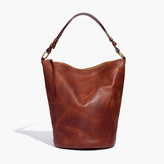 Madewell The Lisbon O-Ring Bucket Bag in Leather