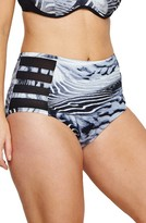 Plus Size Women's Robyn Lawley Lucia High Waist Bikini Bottoms