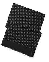 Ralph Lauren Dot-print Wool Scarf