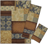Mohawk Home Soho 3pc Gwendolyn Patches Set Printed Rectangular 3-pc. Rug Set
